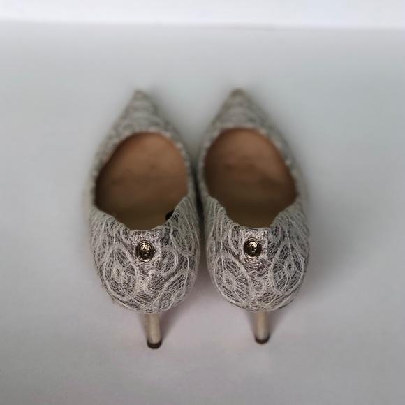 46fb6339b94 Ivanka Trump Embroidered Wedding Shoe